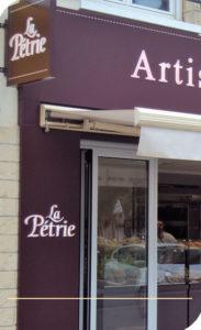 habillage façade commerce Reims 51